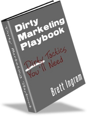 Product picture Dirty Marketing playbook-make more money from your website